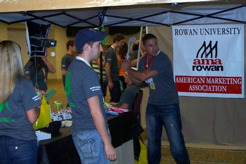meeting of Rowan's American Marketing Association