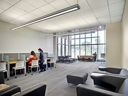Full view of the entrepreneurship center