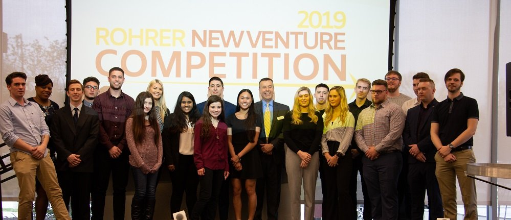 Students at the New Venture Competition